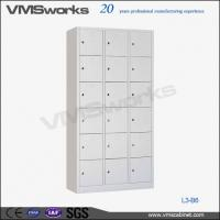Locker High Quality Triple Frame Personal Individual Metal Locker Storage For Sale
