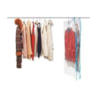 Clothes Hanging Vacuum Storage Bag Protect Dress From Insects