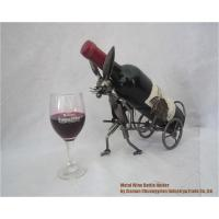 Wine Holder Cart-Metal-Wine-Bottle-Caddy-Holder205