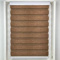 Venetian Blinds Zebra Blinds in Brown color