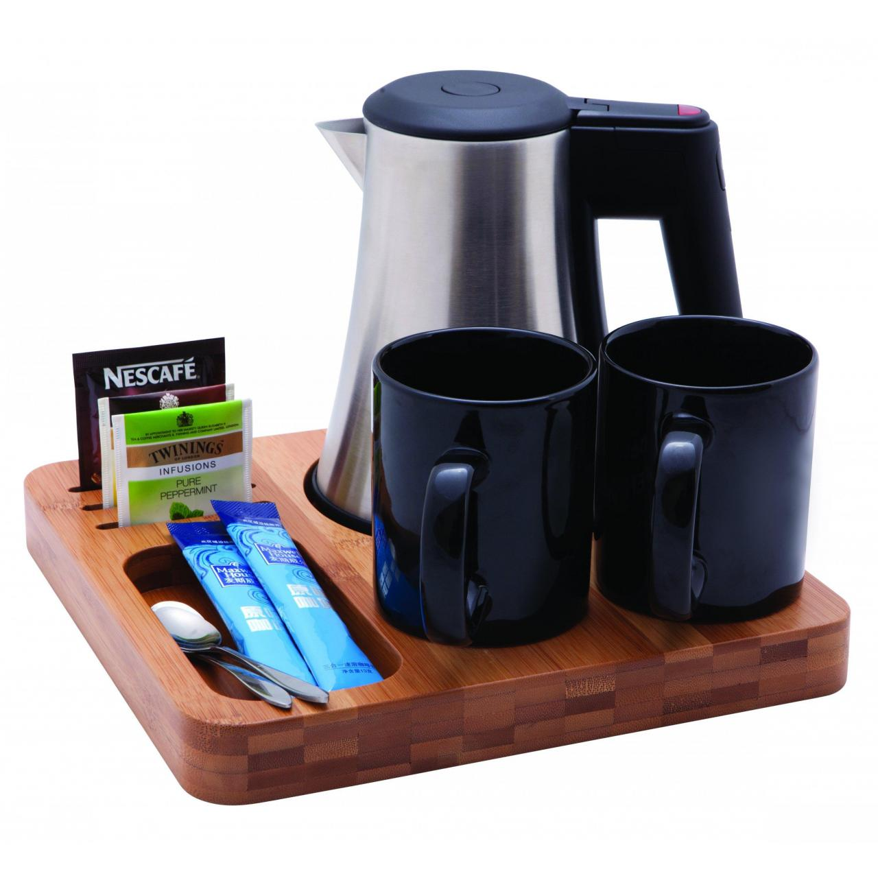 Quality BAMBOO WELCOME TRAY SET for sale
