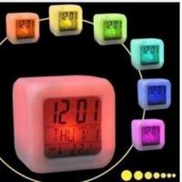 Quality color change digital alarm clock for sale