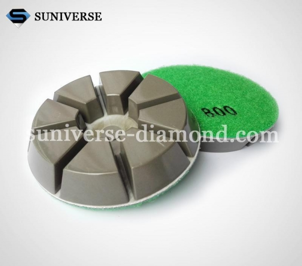 Buy Granite/marble grinding tools Polishing pad 4FP6-QJ at wholesale prices