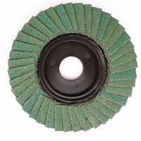 Quality Flexible abrasive cloth aluminium oxide flap disc can be customized for sale