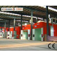 Quality Natural Gas Heating Bus Paint Spray Booth for sale
