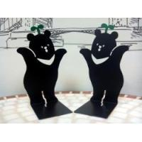 Quality Cultural and creative products Formosa Bleak Bear Bookend Book Shelf for sale
