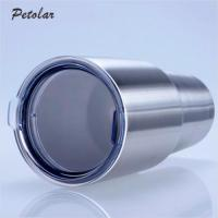 30Oz Insulated Travel Stainless Steel Tumbler With Lid