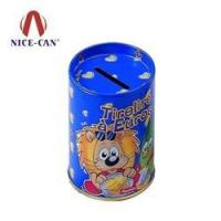 Coin Bank Boxes Customized coin bank tin for kids NC2261