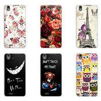 Buy cheap LG K10 Soft TPU case LG K10 Art Printed Silicone Case Flora Patterns Nice Gift For LG K10 Black from wholesalers
