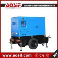 Buy cheap AOSIF 110kva mobile generator power by Cummins engine from wholesalers