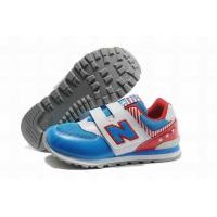 Buy cheap Kids Kids New Balance American KV574ATI Shoes Blue White Red from wholesalers