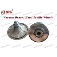 Quality Brazed Hand Profile Wheels Vaccum Brazed Hand Profile Wheels for sale