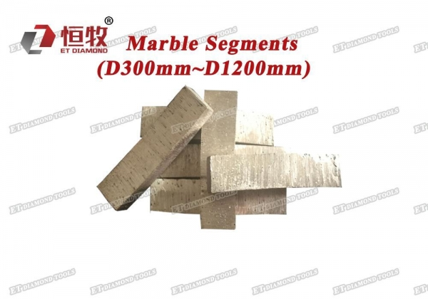 Buy Diamond Segments Marble Segments - For Small Saw Blades at wholesale prices