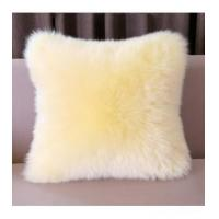 Quality Cushion China Supplier Colorized Real Mink Fur Decorative Pillow for sale