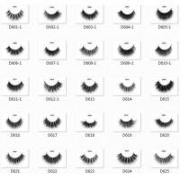 Quality Luxury 3D Mink Lash styles Strip Lashes for sale