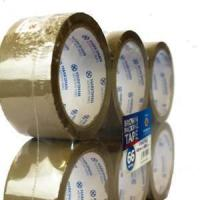 Quality ADHESIVE TAPE (39) 6 PACK 48 MM X 66 METERS BUFF BROWN TAPE FLATPACK for sale