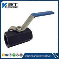 Quality 1PC Hex Body Carbon Steel Ball Valve for sale
