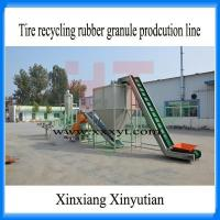 Used tire recycling production line to rubber granule 1-5mm