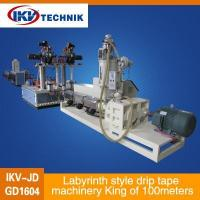 Quality Labyrinth style drip tape machinery King of 100meters for sale