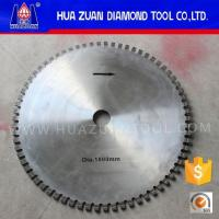 Black Top Large Saw Cutting Blades Profile For Granite