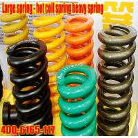 Large spring - hot coil spring heavy spring