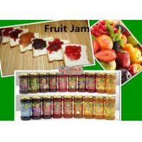 China Sweet And Succulent Canning Fruit Jam 12bottles / Carton Short Lead Time on sale