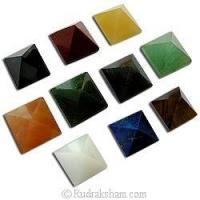 Quality Gemstone Pyramid Set for sale