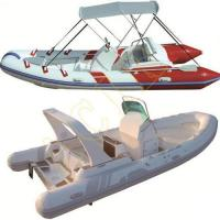 Quality PVC Hypalon Inflatable Rib Rubber Boat for sale