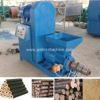 Quality Wood Block Making Machine New Energy Fuel Biomass Waste Extruder Machine for sale