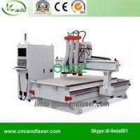 Wood Carving Machine 3 Heads 3D Woodworking CNC Router