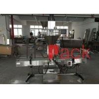 Chemical Industrial Dual Auger Powder Filling Machine With Conveyor , High Accuracy