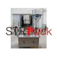 Screw aluminum capping machine for agrochemical , foodstuff industries