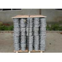 Single , Double , 4 Strand Razor Barbed Wire For Fence Protective 450mm - 960mm