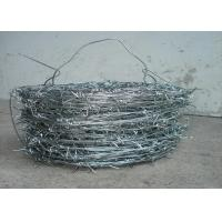 1.5cm - 3cm High Tensile Fencing Barbed Wire 16 * 16 Double Strand For Fence