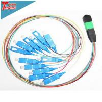 12 Cores Fiber Optic Single Mode MPO MTP SC 0.9mm Fan Out Kit Cable Assembly Connection