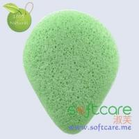 Softcare organic water drop cleansing Konjac sponge