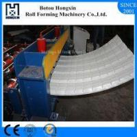 Colored Steel Roofing Sheet Crimping Machine For Curving 120 Degree Bend Angle