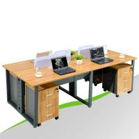 Double Sided Office Desk for 4 Person