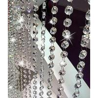 Best 10.5 Feet Clear K9 Crystal Chandelier Prism Lamp Octagon Bead Chain christmas Wedding Pendant wholesale