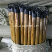 Quality colorful pvc coated wooden broom handle for sale