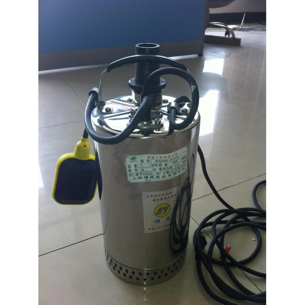Small fully stainless steel submersible pump