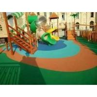 Quality Full pour EPDM athletics track surfacing for professional playground for sale