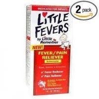 Quality Little fever's fever/pain reliever infant drop 1-ounce (pack of 2) for sale