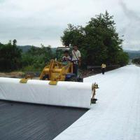 Quality Non Woven Geotextile Polyester PET Non Woven Fabric Geotextile For Road for sale