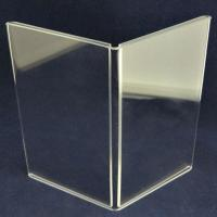 """Quality 5.5"""" x 8.5"""" Book Style Menu Stand for sale"""