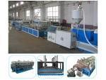 China PVC Window Sill Profile Extrusion Line on sale