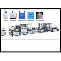 Quality Auto Eco PP Non Woven Bag Making Machine , Fabric Bag Machinery for sale