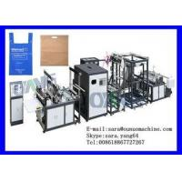 Quality Box Bag Non Woven Bag Making Machine Three Phase with automatic feeding for sale