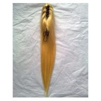 China Clamp on Ponytail human hair extensions on sale