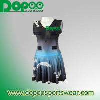 Quality good quality netball club dress DPNJ022 for sale